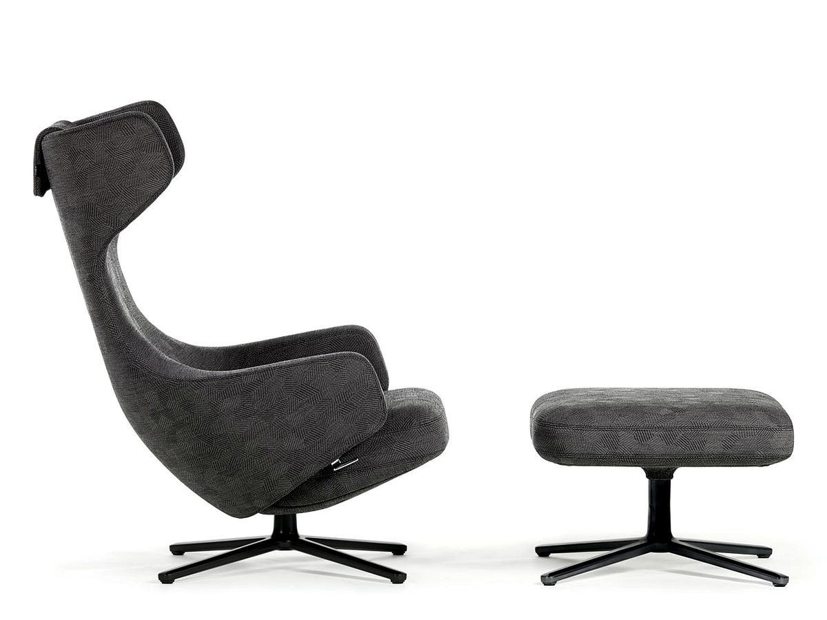 vitra grand repos ottoman limited edition by antonio citterio 2011 designer furniture by. Black Bedroom Furniture Sets. Home Design Ideas