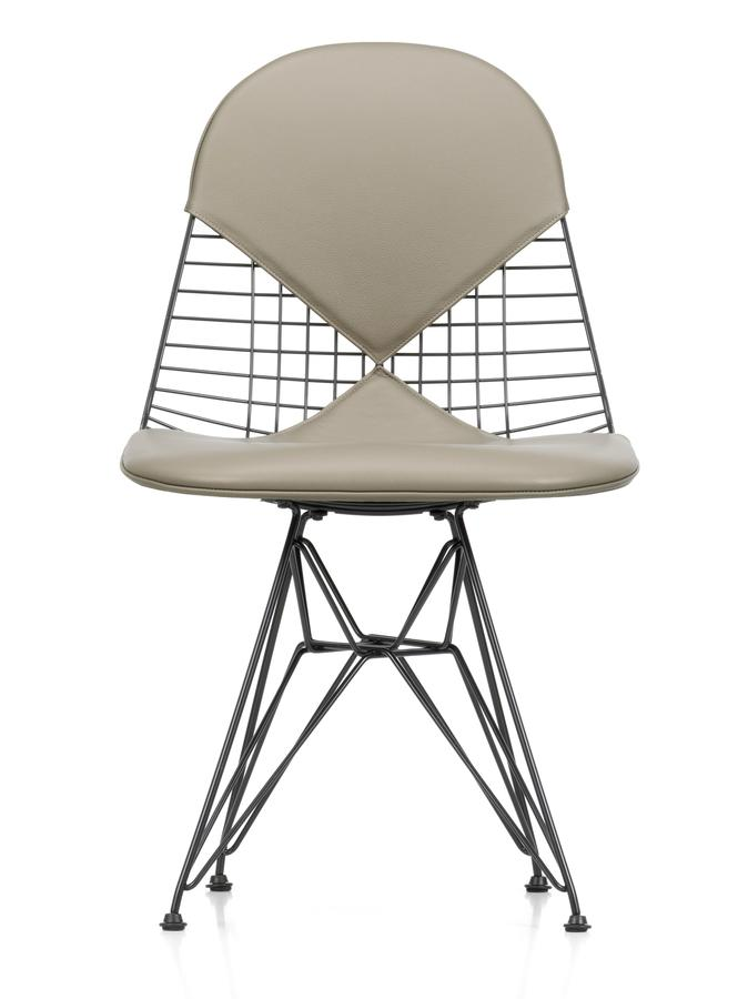 vitra seat cushion for wire chair dkr dkw dkx by charles. Black Bedroom Furniture Sets. Home Design Ideas