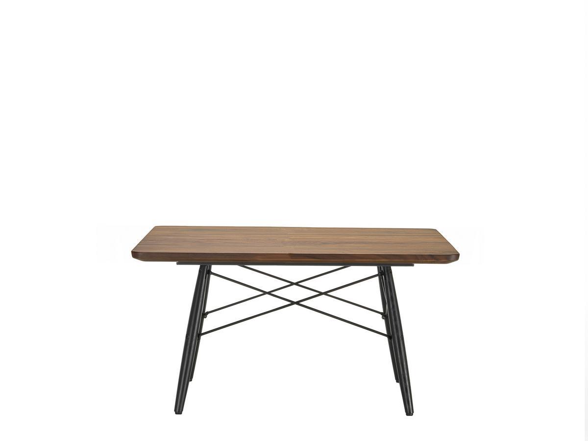Vitra Eames Coffee Table L 76 X W 76 Cm American Walnut By Charles Ray Eames 1949