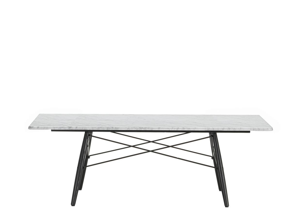 Vitra Eames Coffee Table L X W Cm Marble Carrara By Charles - Eames marble table