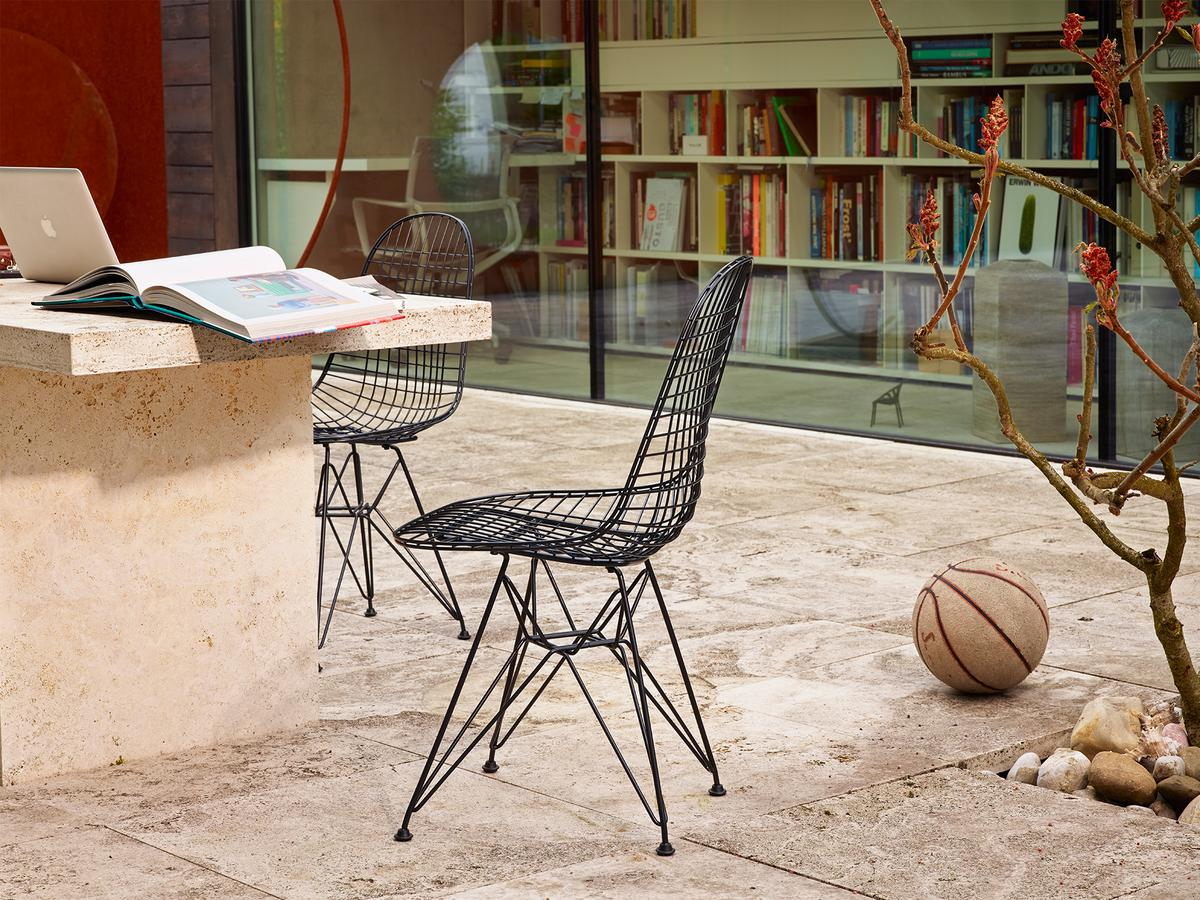 Vitra dkr wire chair by charles ray eames 1951 for Eames chair nachbau deutschland
