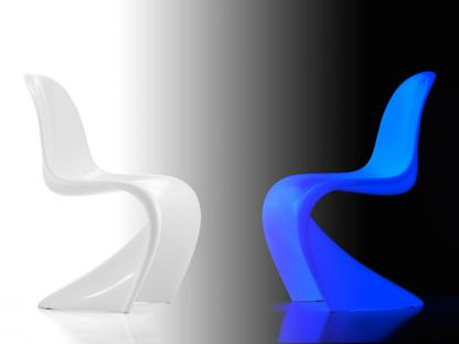 Panton Chair Classic Glow Edition - Exhibition Piece