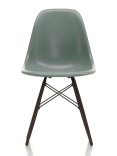 Eames Fiberglass Chair DSW Eames sea foam green|Black maple