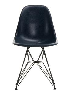 Eames Fiberglass Chair DSR Eames navy blue|Powder-coated basic dark smooth