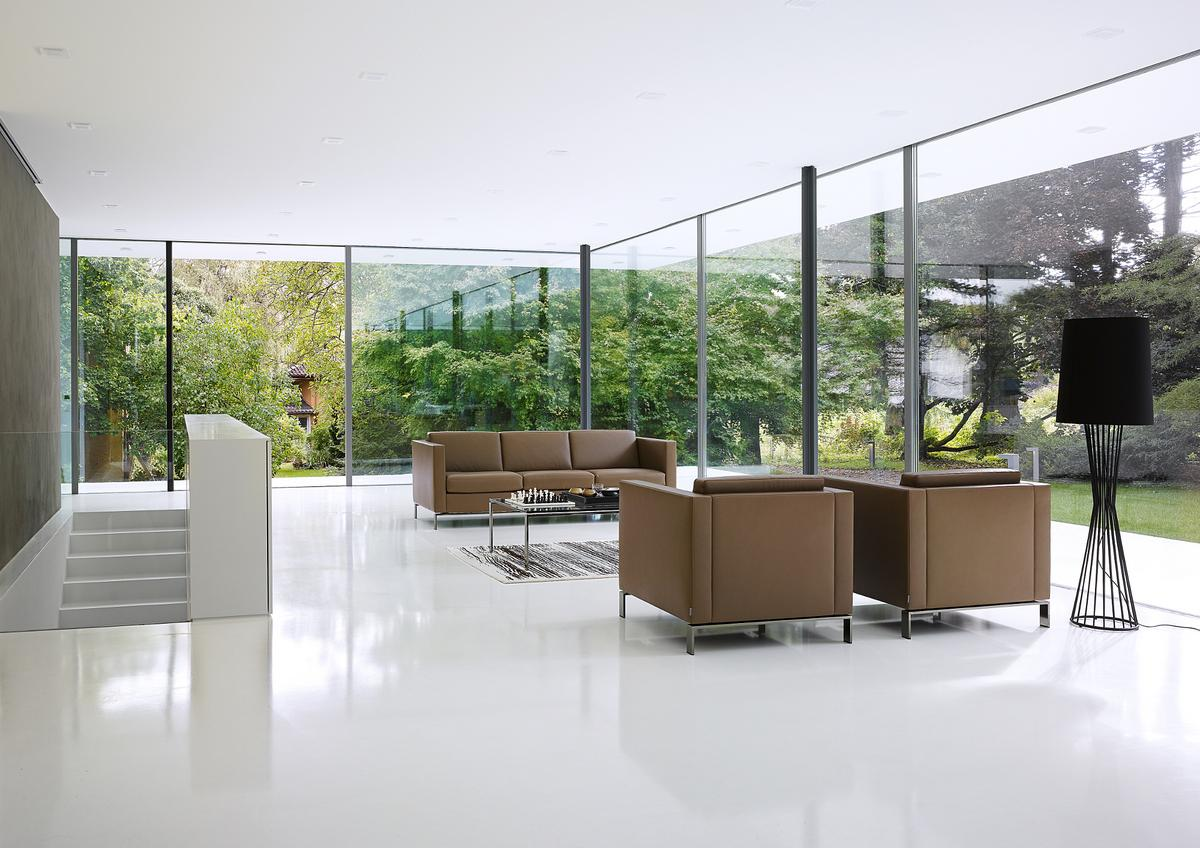 walter knoll foster armchair 500 by norman foster. Black Bedroom Furniture Sets. Home Design Ideas
