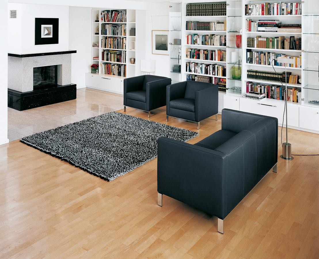 Walter knoll foster armchair 501 by norman foster for Sessel walter knoll