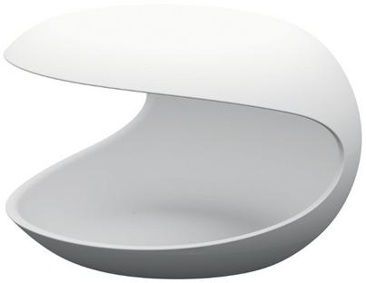 Side Table White Shell